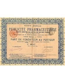 Sté Générale de Publicité Pharmaceutique