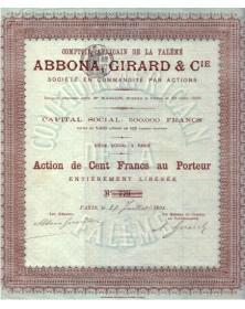 Comptoir Africain de la Falémé Abbona, Girard & Cie