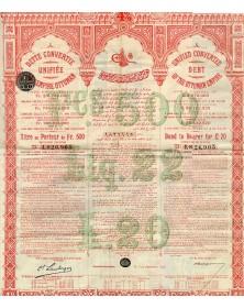 Dette Unifiée de l'Empire Ottoman