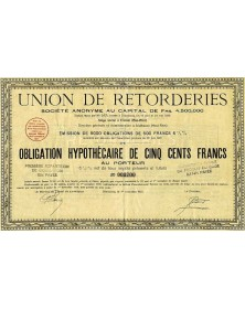 Union de Retorderies