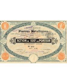 Sté Française de Pierres Métalliques