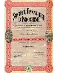 Sté Financière d'Indochine