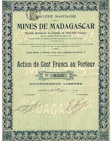 Sté Nantaise des Mines de Madagascar
