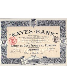 ''Kayes-Bank'' S.A.
