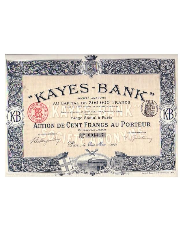 ''Kayes-Bank'' S.A.