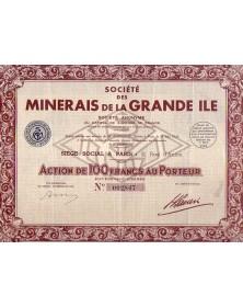 Sté des Minerais de la Grande Ile