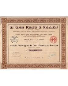 Les Grands Domaines de Madagascar