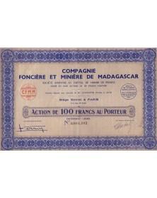 Cie Foncière et Minière de Madagascar