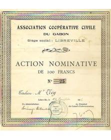Association Coopérative Civile du Gabon