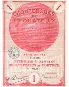 Caoutchoucs de l'Equateur et anciens Ets J.A.M. Grenouilleau