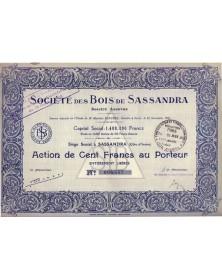 Sté des Bois de Sassandra
