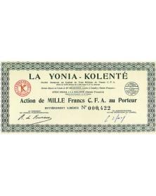 La Yonia - Kolenté