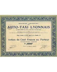 Sté des Auto-Taxi Lyonnais