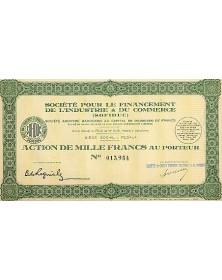 Sté pour le Financement de l'Industrie & du Commerce (SOFIDUC)
