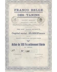 Franco Belge des Tanins