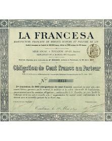La Francesa. Manufacture Française de Rideaux Guipure et Peluche de Lin