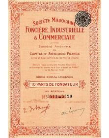 Sté Marocaine Foncière, Industrielle & Commerciale