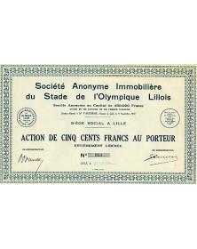 S.A. Immobilière du Stade de l'Olympique Lillois