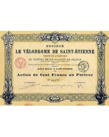 Sté Le Vélodrome de Saint-Etienne