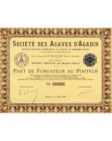 Sté des Agaves d'Agadir