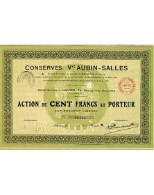Conserves Vve Aubin-Salles