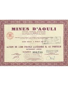 Mines d'Aouli, S.A. Marocaine