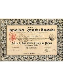 Sté Immobilière Lyonnaise Marocaine