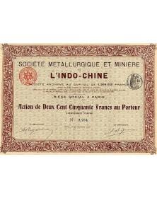 Sté Métallurgique & Minière de l'Indo-Chine