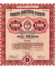 Credito Argentino Interno
