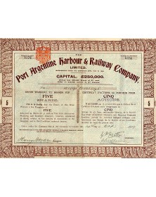 The Port Argentine Harbour & Railway Co.