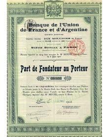 Banque de l'Union de France et d'Argentine