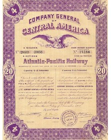 Company General of Central America Atlantic-Pacific Railway