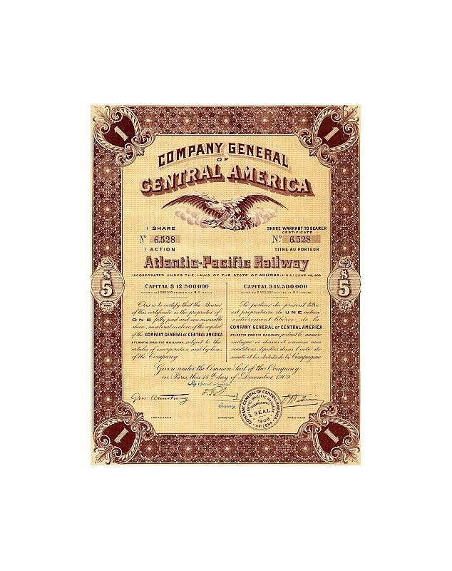 Company General of Central America Atlantic-Pacific Railway