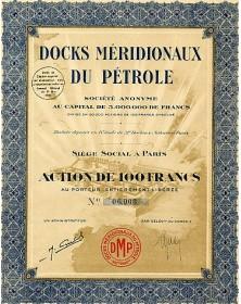 Docks Méridionaux du Pétrole