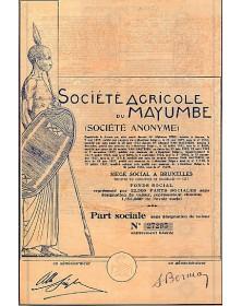 Sté Agricole du Mayumbe (Congo)