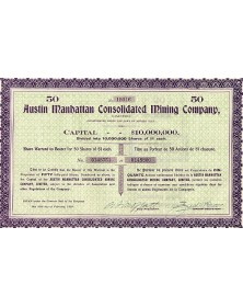 Austin Manhattan Consolidated Mining Co.
