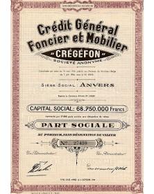 Crédit Général Foncier et Mobilier ''Crégéfon''