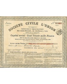Sté Civile L'Union