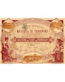 Sté de Construction de Matériel de Transport  (Anciens Ets Hanquet, Aufort et Cie)