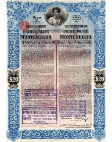 Gouvernement de la Principauté de Monténégro