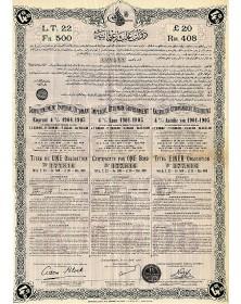 Gouv. Impérial Ottoman-Emprunt 4% 1901-1905