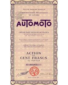 Automoto. S.A. Nouvelle de Constructions Mécaniques de la Loire