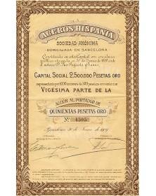 Aceros Hispania Sociedad Anonima