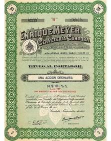 Enrique Meyer Cerveceria Cordoba