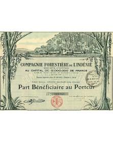 Cie Forestière de L'Indénié Ivory Coast
