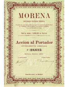 Morena. S.A. Minera