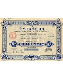 Estañera (Cie Internationale Minière & Industrielle)