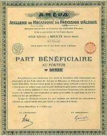 AMEPA Ateliers de Mécanique de Précision d'Alsace