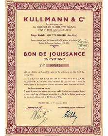 Kullmann & Cie (Filatures)