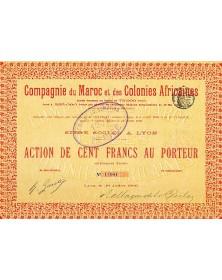 Cie du Maroc et des Colonies Africaines